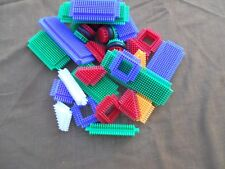 BRISTLE  BUILDING BLOCKS - SNAP TOGETHER VERY EASY  = GREAT GIFT