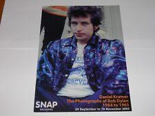 Bob Dylan - Daniel Kramer Photo Exhibition Programme 2005 Snap London