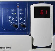 Caldera Buderus display zm435 módulo ZM 435 display logamatic 4000 régimen de calefacción