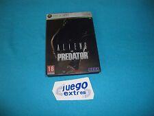 Steelbook Aliens vs Predator Xbox 360 DVD Size con funda española