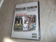 RUCKUS VIDEOS DVD VOLUME 1 ~UNCENSORED MEDIA ~ HILARIOUSLY SHOCKING HARDCORE
