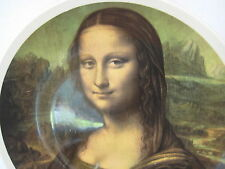 """Lord Nelson Pottery Staffordshire England """"Mona Lisa"""" Plate, 10.5"""" D X 1"""" H"""