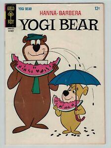 Yogi Bear 26 Hanna Barbera Gold Key Comics 1966 VG FN
