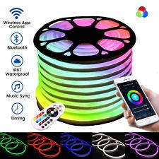 ATOM LED RGB Neon Flex 18 21mm Wireless Bluetooth App 220V IP67 RGB neon flex