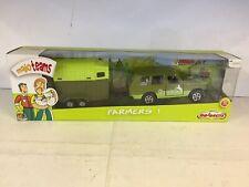 Majorette MajoTeams Farmers DieCast Range Rover, Horse & Trailer Model REF200168