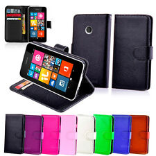 New Wallet Leather Case Cover - Microsoft Lumia 540