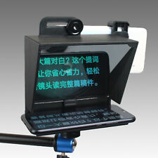 Portable Mini Teleprompter for all iPhone 7 8 9 X Android Phone Smartphone