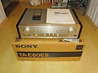 Sony TA-E80ES High-End Verstärker in OVP, Champagner, FB&BDA, 2J. Garantie