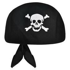 Pirate Bandanna Boys Girls Kids Fun Skull And Crossbones Bandanna Hat Head
