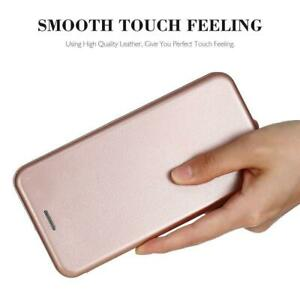 for Apple iPhone 5 6 7 8 XR XS Xsmax Smart Leather Wallet Case Cover