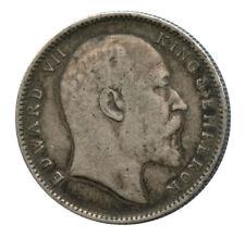 1904 British India Silver Rupee Edward VII