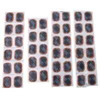 48Pcs Bicycle Bike Self-Adhesive Glueless Inner Tube Tyre Rubber Repair Patches