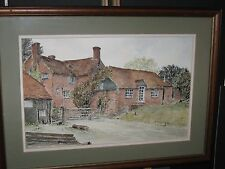 Turks Farm, Swife Lane, Heathfield, Sussex Art, Original Watercolour Art,