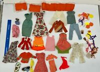 50+) Vintage 60's 70's 80's Mixed Clothes Lot Hangers Plates Mattel Doll Remco?