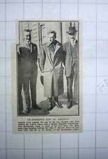 1917 Capt Cyril Asquith With John P Mitchel And Gh Baillie