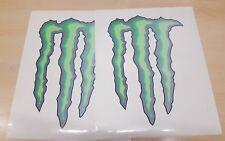 "MONSTER ENERGY STICKER 8"" Genuine promotional item of 2 (M)"