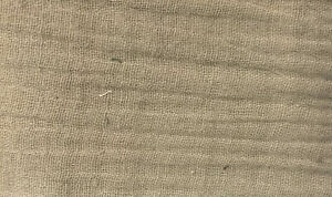 Musselin Baumwolle - Stoff Meterware - Double Gauze SAND * 50 cm x 130 cm *