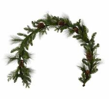Pottery Barn 6′ Decorative Collection Juniper Mix Pine Garland