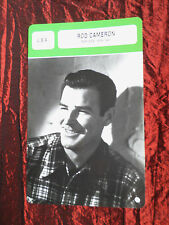 ROD CAMERON - MOVIE STAR - FILM TRADE CARD - FRENCH - #2