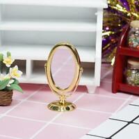 1:12 Maison de poupée Miniature Scène de vie Mini modèle de miroir de maquillage