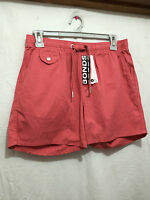 BNWT Mens Sz Medium Bonds Brand Dusty Coral Smart Elastic Waist Shorts RRP $50
