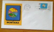 First day of issue, 1976 Bicentennial State Flags , Montana, Scott # 1673
