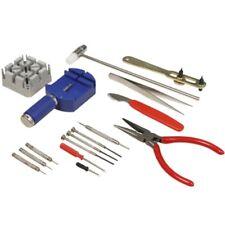 Uhrenwerkzeug-Set 16-teilig Stiftaustreiber Schraubendreher Zange Pinzette uvm