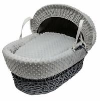 Nursery Decoration Furniture Isabella Alicia Baby Moses Basket Replacement Coverlet Blanket Dimple White Baby Mhg Co Ke