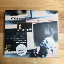 Olivier MESSIAEN Saint Francois d'Assise 4 CDs DG Nagano Upshawe Halle Orchestra