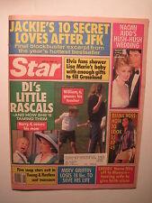 Star Magazine 5-23-1989. Princess Diana & Prince Harry! Naomi Judd Wedding!