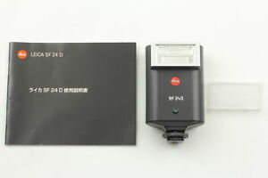 [Near MINT] Leica SF 24D Black Flash 14444 for M9 M8 M7 M6 Q2 TTL From JAPAN