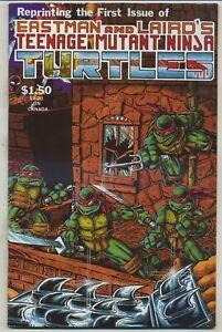 Teenage Mutant Ninja Turtles 1 Fourth Printing High Grade