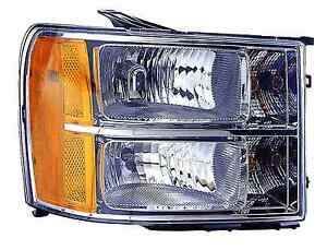 GMC Sierra 1500 / 2500 / 3500 2011 2012 2013 right passenger head headlight