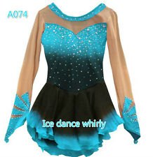 Women Ice Skating Dresses Custom Figure Skating Dress for Competition