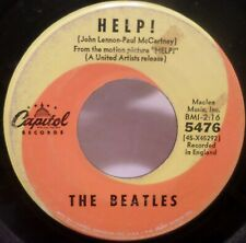 The Beatles . HELP! b/w I'm Down . 1965 Capitol Records 45 rpm VGVG+ w/o Subsid