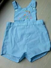 Judy Philippine Vintage Overall Shortall size 9 Months Blue