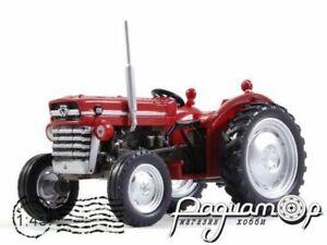 Tractor Massey Ferguson MF135 1965 Hachette. Diecast Metal model Scale 1:43. A