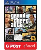 Grand Theft Auto V GTA 5 PS4 - Brand New & Sealed (In Stock)