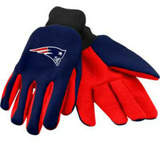 New England Patriots: Utility Work Gloves  Official NFL Item.  New