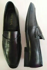 PRADA men's loafer shoe authentic PRADA loafer NIB black classic styl 10 UK/11US