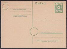 SBZ P 8 * Ganzsache Ost Sachsen, GA sowjet. Zone
