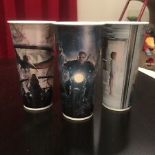 Jurassic World Dairy Queen Unused Large Blizzard Cups Set MINT