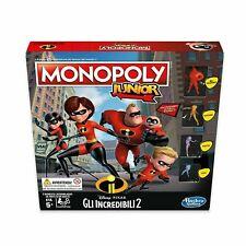 Monopoly junior gli incredibili 2 gioco di società ✨ Hasbro Gaming 🧸