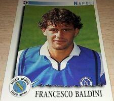 FIGURINA CALCIATORI PANINI 1997/98 NAPOLI BALDINI ALBUM 1998