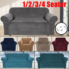 1-4 Seater Waterproof Sofa Slipcover Chair Cover Stretch Couch Settee Protector