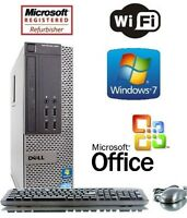 Dell Optiplex 790 Desktop Computer Intel Core i5 3.1GHz Windows 7 Pro 8GB 1TB