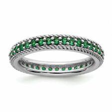 Anelli di lusso verde smeraldo