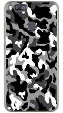 FUNDA de GEL TPU para XIAOMI MI 5X / MI A1 diseño SNOW CAMUFLAJE Dibujos