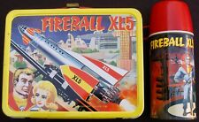 Vintage FIREBALL XL-5 Lunchbox & Thermos - Sci-Fi TV  (1964) C-8.5/9.0 Minty!