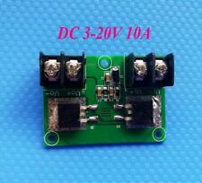 DC 3-20V 10A Power Supply Reverse Protection Board Module Large Current
